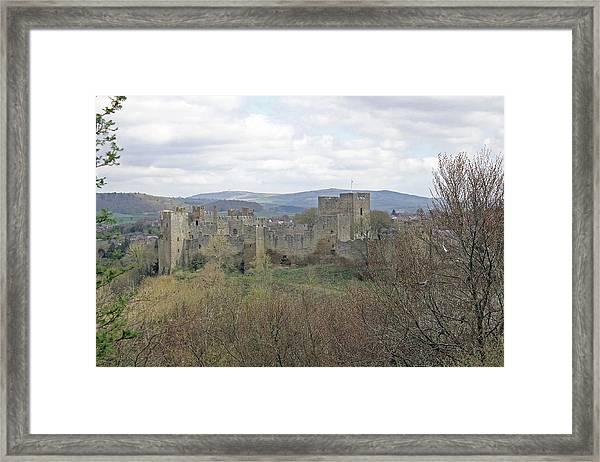 Ludlow Castle Framed Print