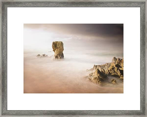 Lumeboo Beach Long Exposure Framed Print