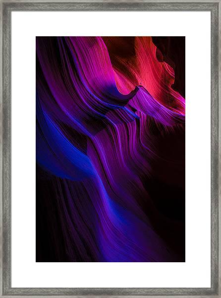 Luminary Peace Framed Print
