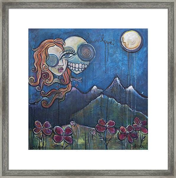 Luna Our Love Eternal Framed Print