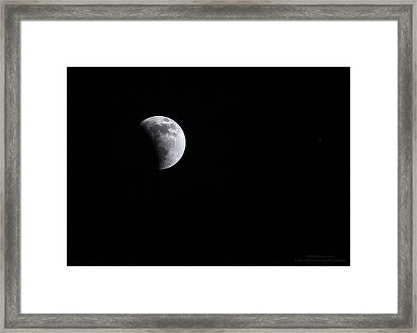 Lunar Night By Denise Dube Framed Print