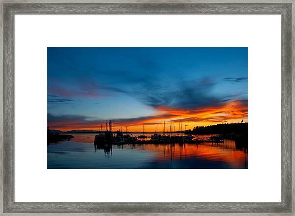 Lund Glow Framed Print