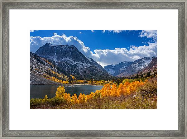 Lundy Lake Framed Print