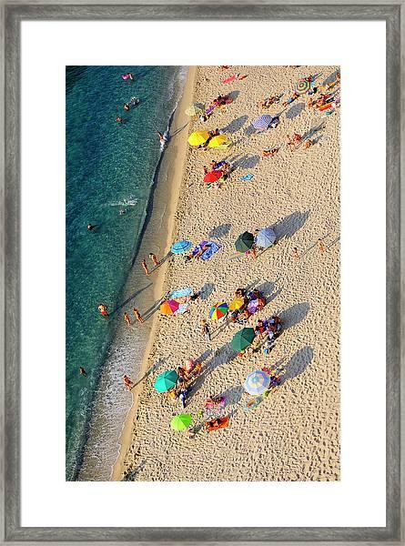 Luomo Sogna Di Volare - Man Dream To Framed Print