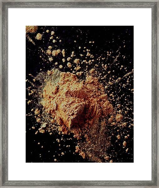 Luster Dust Framed Print