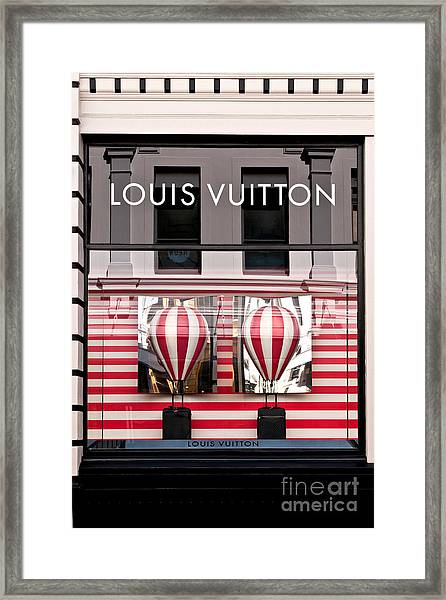 Lv Hot Air Balloons 02 Framed Print