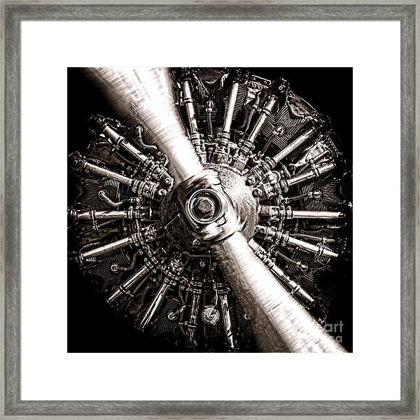 Lycoming  Framed Print