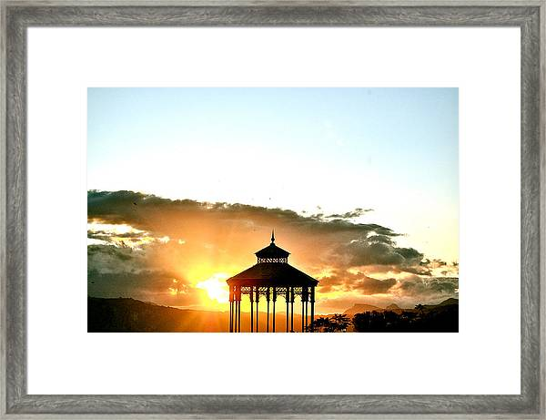 Framed Print featuring the photograph Lyrical Ronda by HweeYen Ong