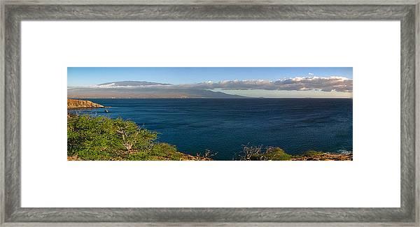 Maalea Bay Overlook   Framed Print