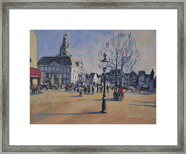 Maastricht On The Last Day Of 2014 Framed Print