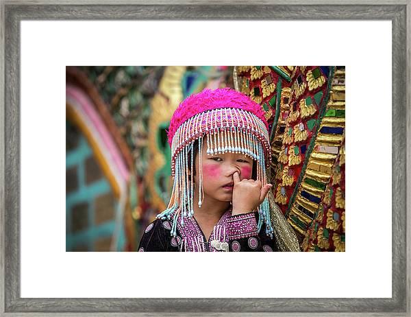 Macaquinho Framed Print