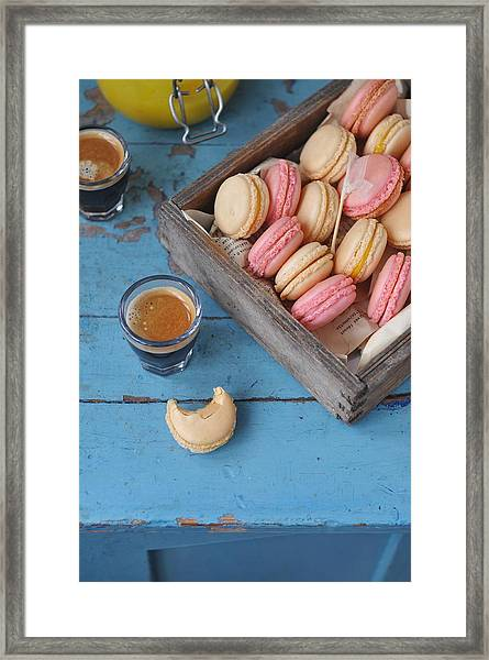 Macarons Framed Print by Photos By Irina Meliukh