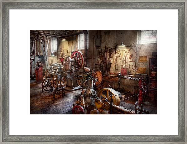 Machinist - A Room Full Of Memories  Framed Print