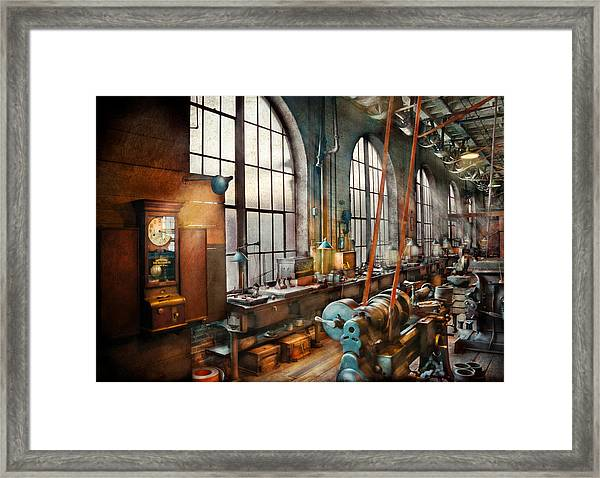 Machinist - Back In The Days Of Yesterday Framed Print