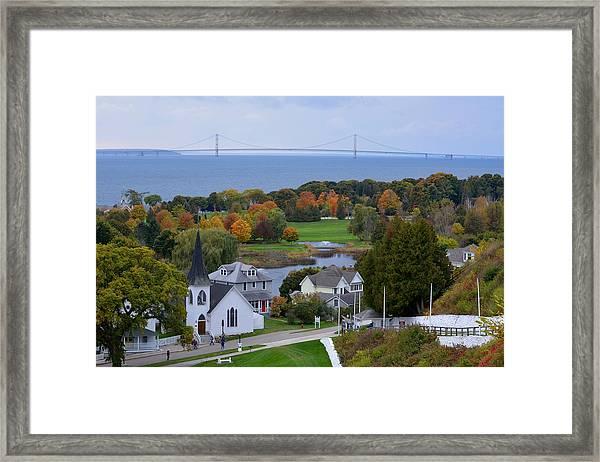 Mackinac Autumn Framed Print