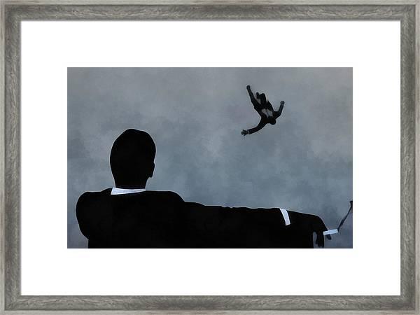 Mad Men Art Framed Print