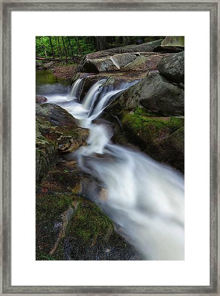 Mad River Flume Framed Print