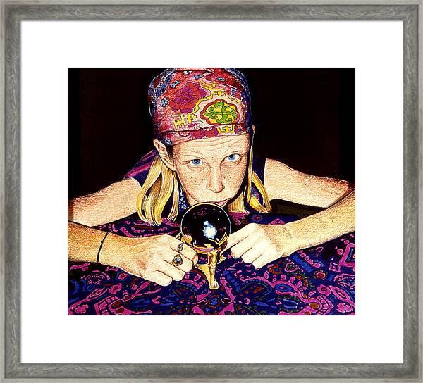 Madame Moiselle Framed Print