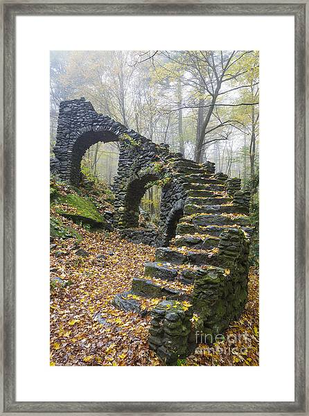 Madame Sherri Forest - Chesterfield New Hampshire Usa Framed Print