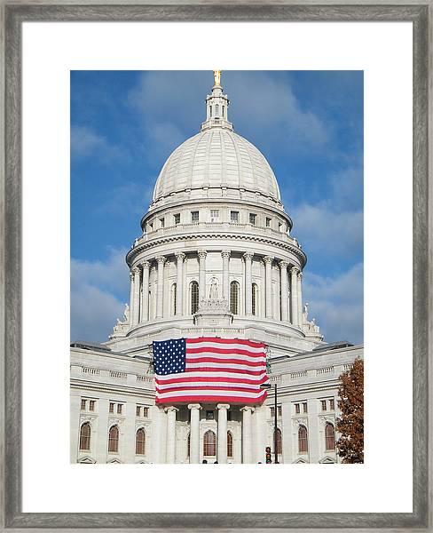 Madison Dome Framed Print