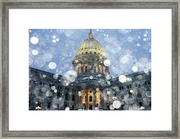 Madisonian Winter Framed Print