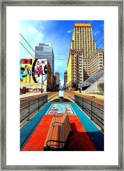 Madison's Memphis Framed Print