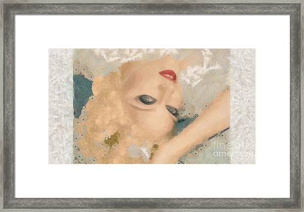 Madonna Wow Framed Print