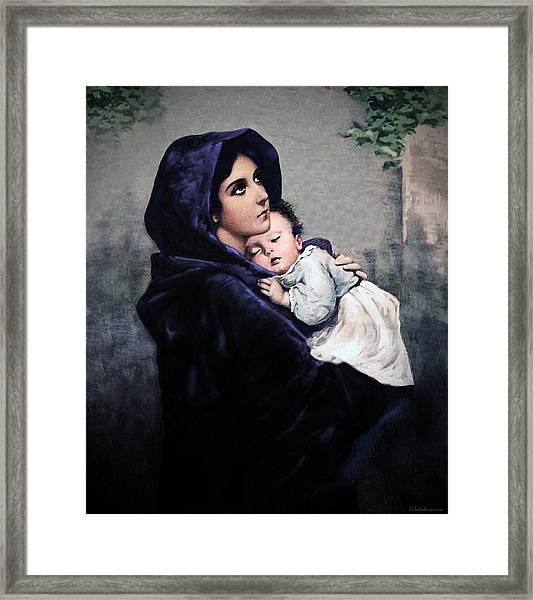 Madonnina Framed Print