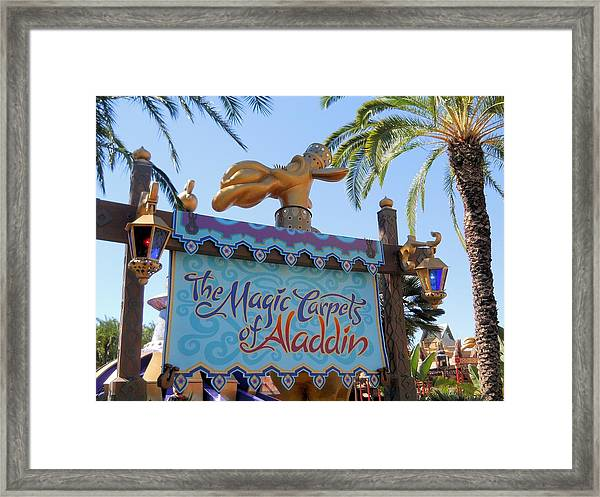 Magic Carpet Ride Framed Print