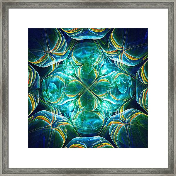 Magic Mark Framed Print