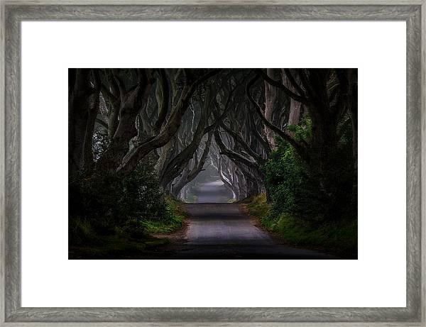 Magic Road Framed Print