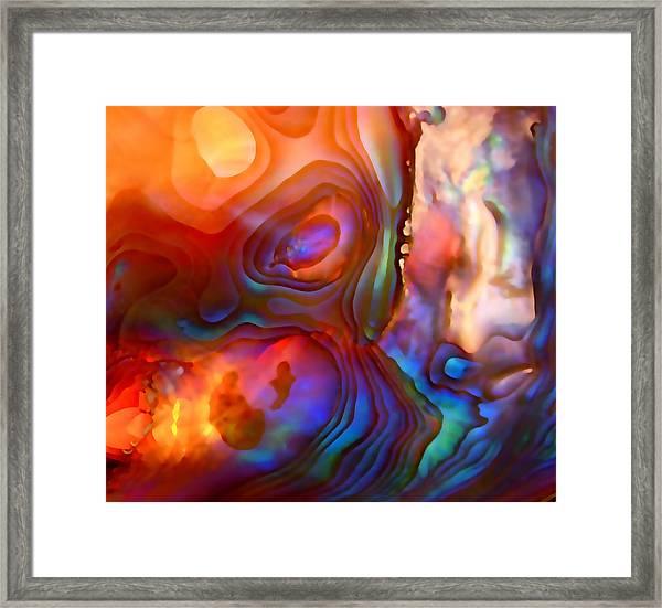 Magic Shell Framed Print