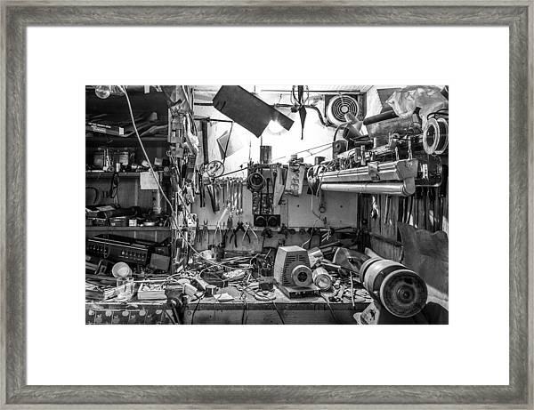 Magic Workshop Framed Print