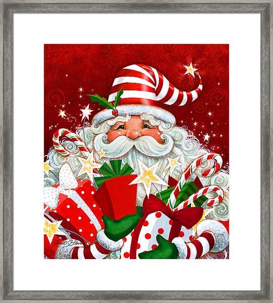 Magical Santa Framed Print