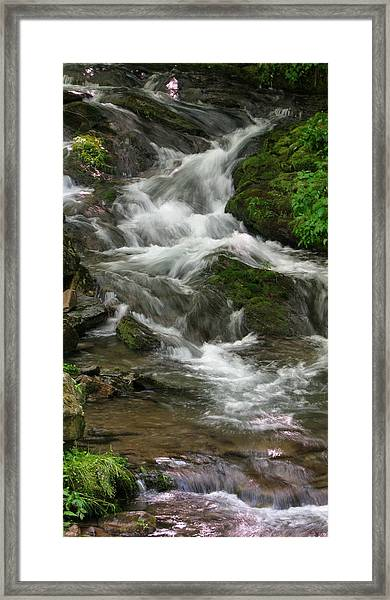 Magical Stream Framed Print