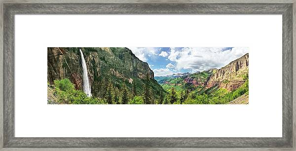 Magical Valley Framed Print