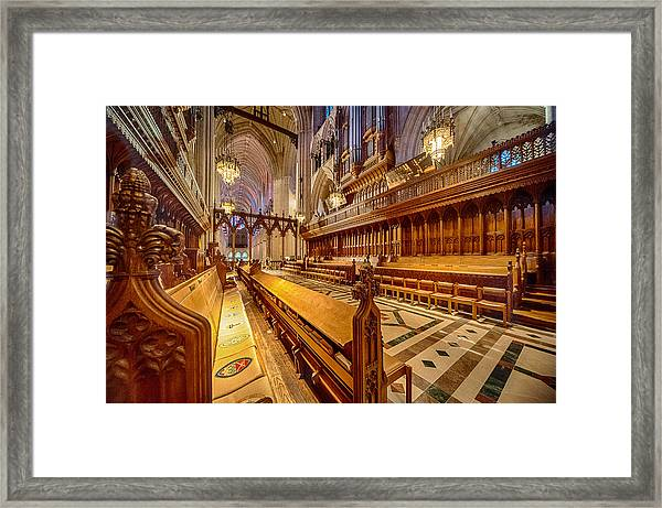 Magnificent Cathedral I Framed Print