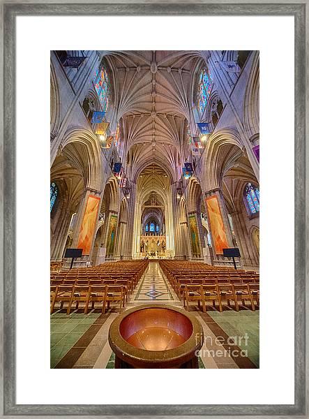 Magnificent Cathedral V Framed Print