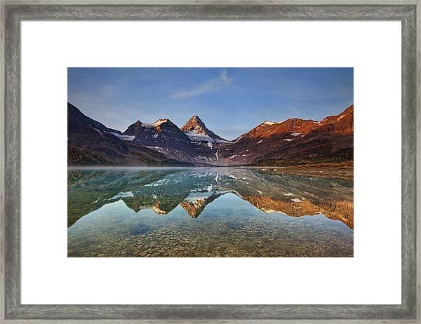 Magog Lake Framed Print