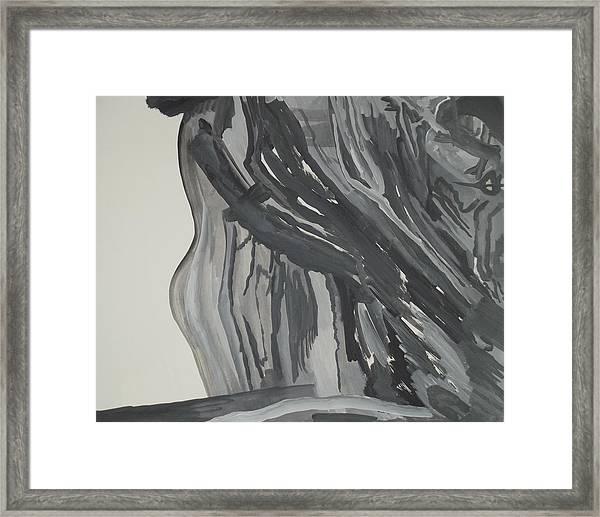 Maid In Maelstrom Framed Print