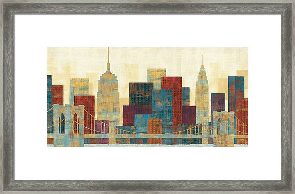 Majestic City Framed Print