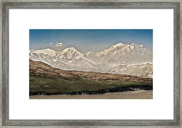 Majestic Mount Mckinley Framed Print