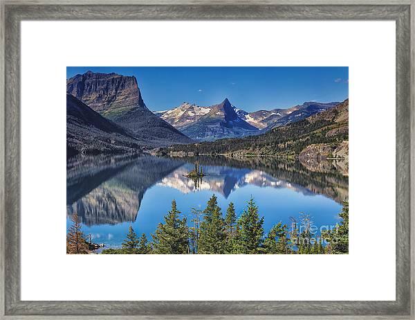 Majestic Reflection Framed Print