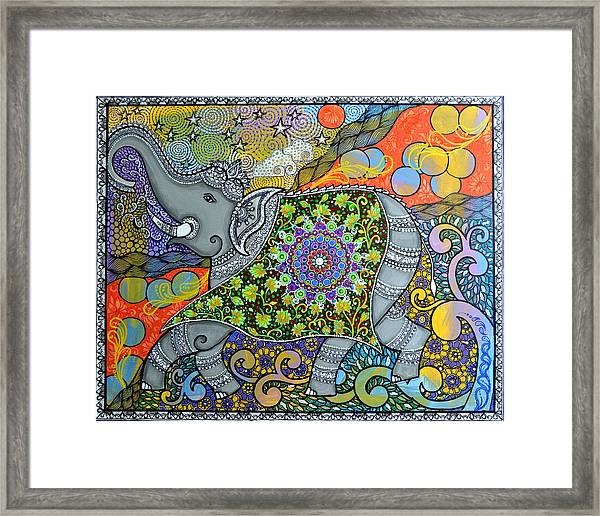 Majestic3 Framed Print by Deepti Mittal