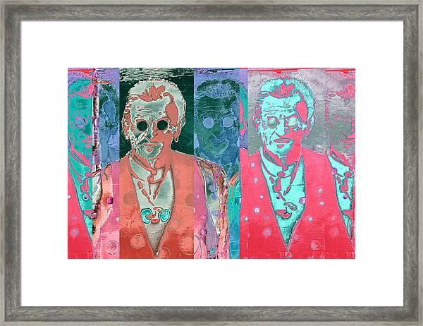 Major Cool Framed Print