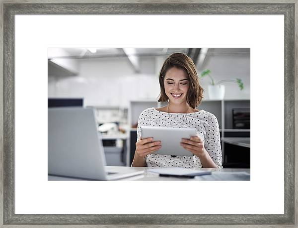 Make Technology Work For You Framed Print by Shapecharge