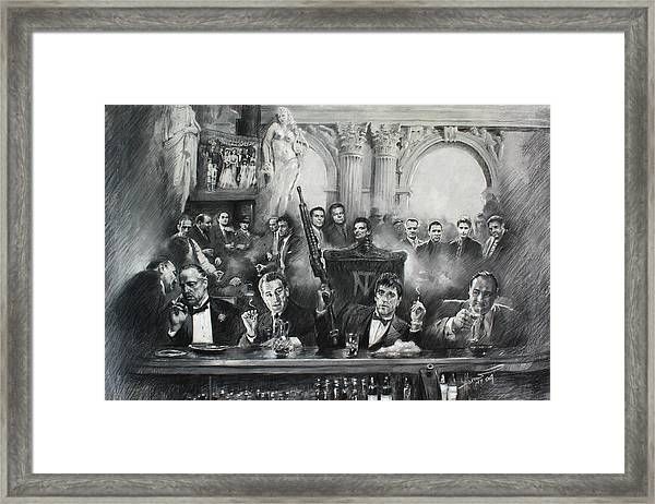 Make Way For The Bad Guys Framed Print