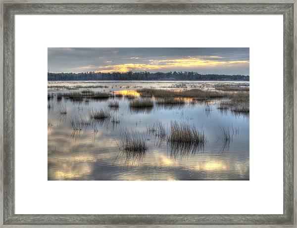 Makepeace Lake Framed Print