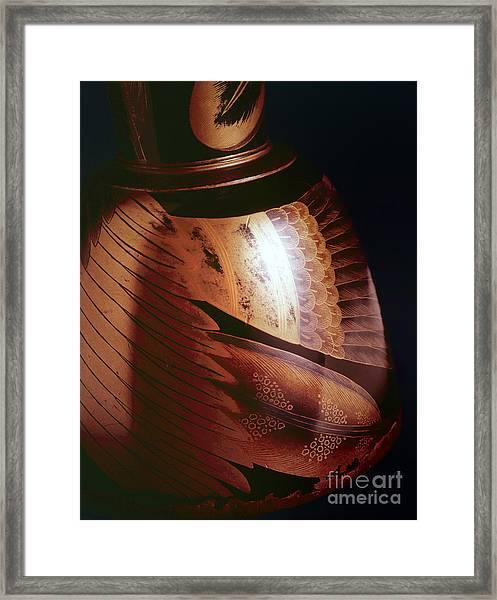Makie-3 Framed Print by Tad Kanazaki