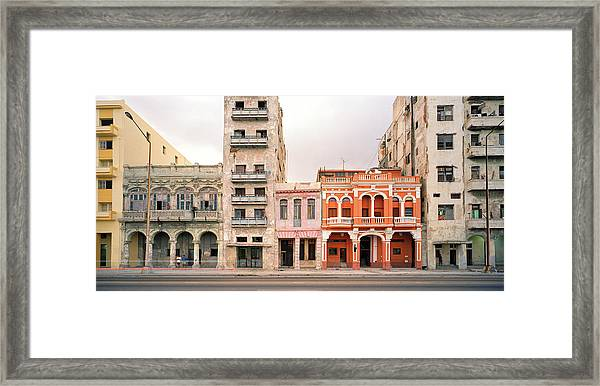 Malecon In Havana Framed Print